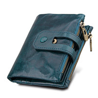 Hot New Fashion Short Women Wallets Female Genuine Leather Womens Wallet Zipper Design With Coin Purse