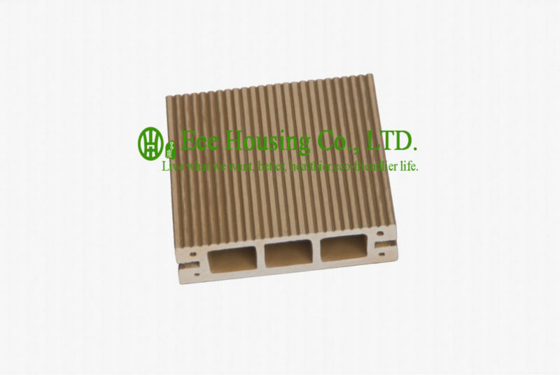 Anti-UV And Anti-impact Outdoor WPC Decking For Playground, Easy Installation And Environmental Friendly