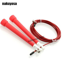 3M Jump Skipping Ropes Cable Steel Adjustable Fast Speed ABS Handle Jump Ropes Crossfit Training Boxing