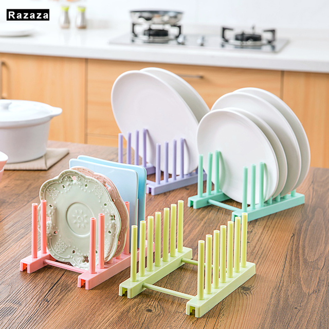 Multi Function Bowl Plate Dish Drainer Rack Shelf For Kitchen Tools Space  Storage Pot Lid