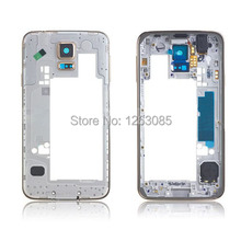 100% Origina Promotion For Galaxy S5 Mid Frame for Samsung for Galaxy S5 SM-G900F i9600 Housing Cover S5 housing replacement