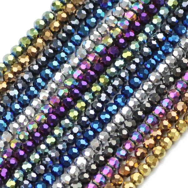 JHNBY, футбольные граненые Австрийские кристаллы, 200 шт, 3 мм, цветные круглые бусины, ювелирные изделия, браслет, аксессуары, сделай сам - Цвет: QZ3100 Mixed color