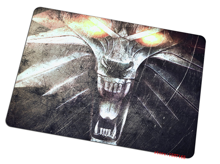 9 size cool The Witcher mouse pad gift large pad to mouse computer mousepad Tasteless rubber gaming mouse mats to mouse gamer