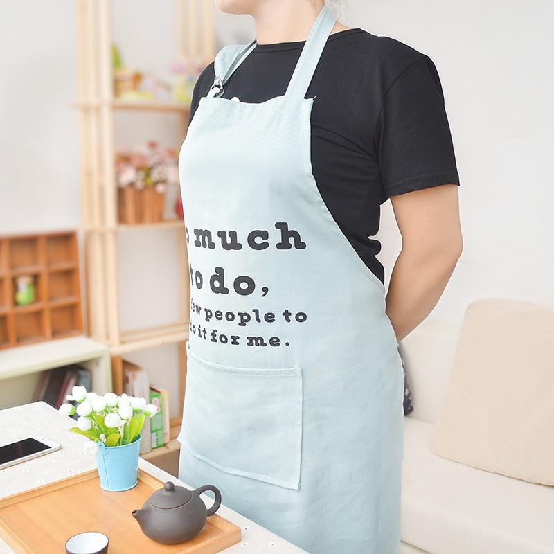santu dea disegno semplice cucina donne grembiule casa grembiule da cuoco ristorante cameriera grembiule stampa logo