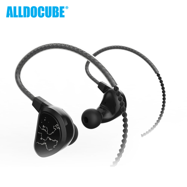F40 In-ear Four Units Circle In-ear HiFi Wired Control Music Sports Running Universal Applicable Tablet Phone