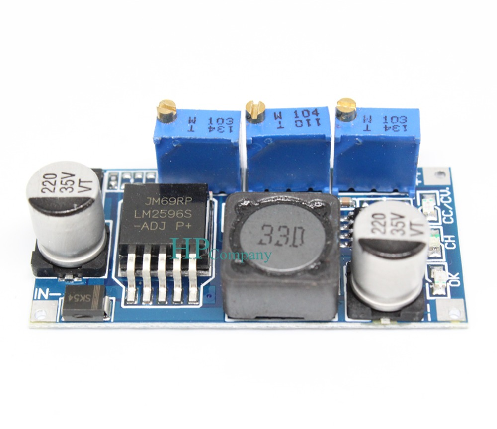 10pcs Lm2596 Constant Current Voltage Power Supply Module Battery Charger 50pcs Led Drive Lithium Charging