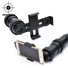 43MM-45MM Aluminium Alloy Cell Phone Scope Mount With Fully Multi-green Coated Optics