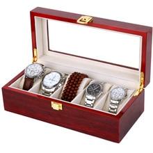 2016 новых на продвижение старинные часы 5 сетки коробки для часов дисплей старину деревянные чехол подарок cajas пункт relojes