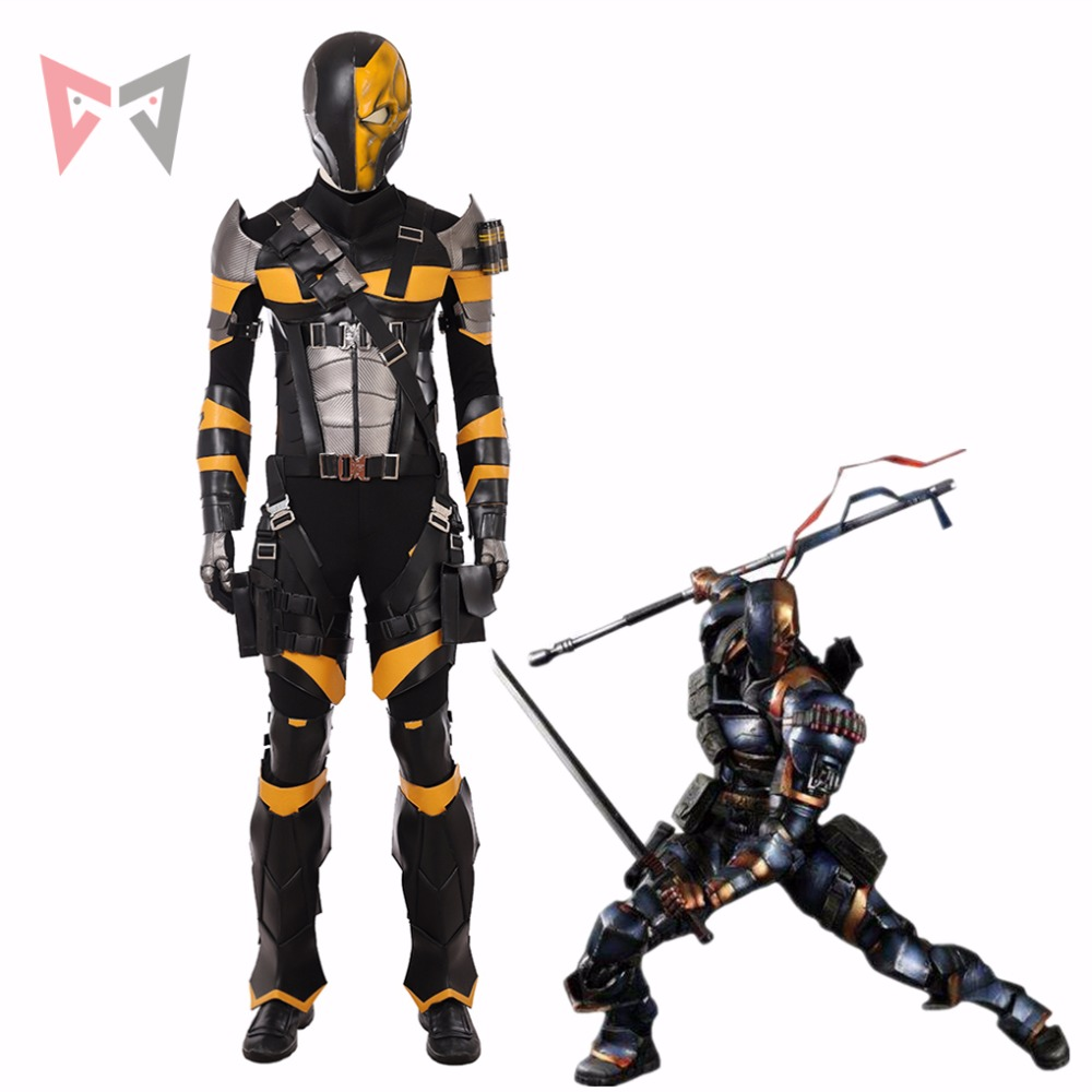 New MMGG Movie Deathstroke cosplay costume Terminator Cosplay set  high quality custom made