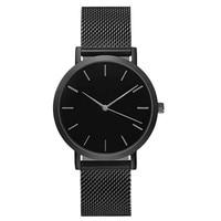 Luxury simple clock analog saat pin buckle stainless steel quartz bracelet wrist watches montre femme large.jpg 200x200