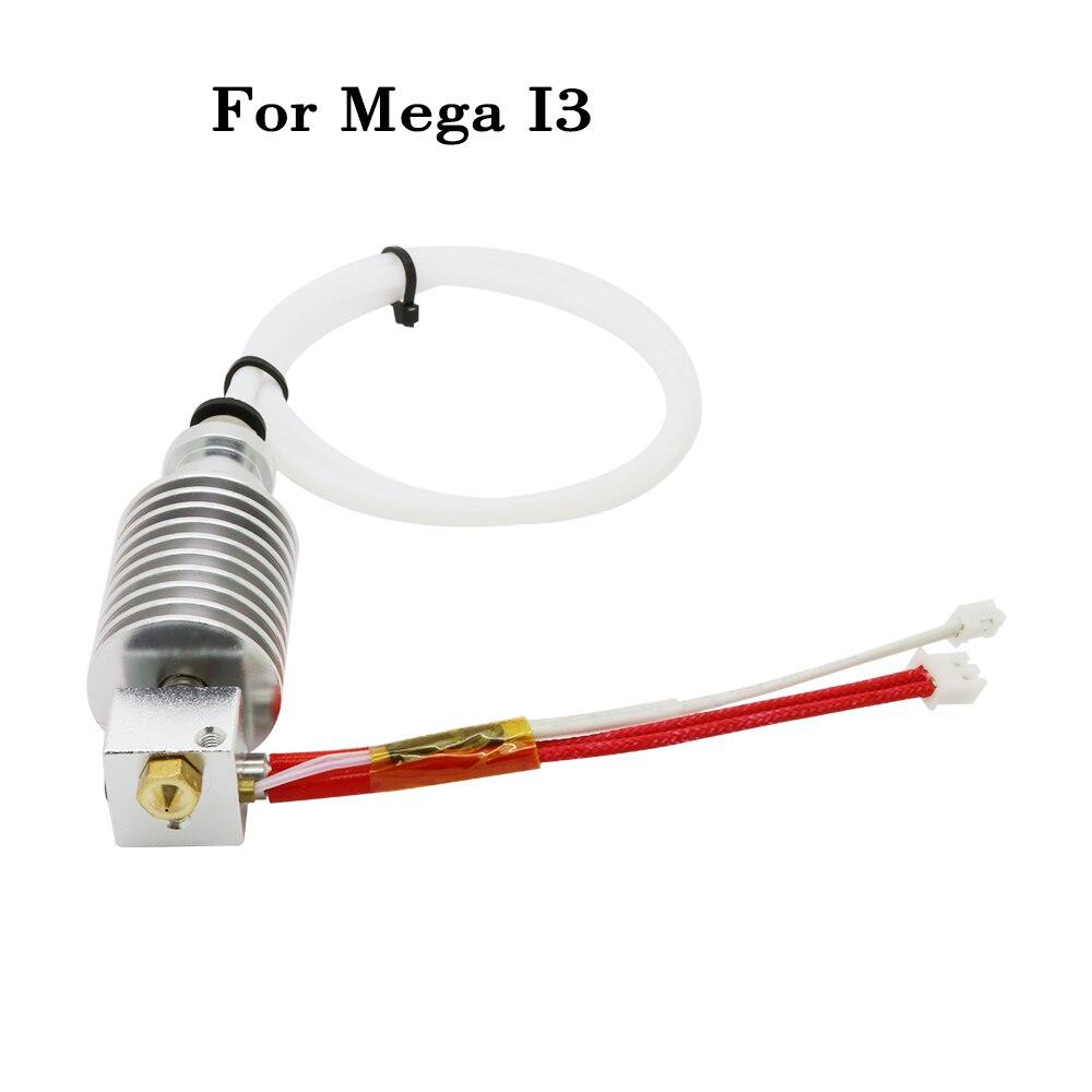 e3d v5/E3D hotend kit Updated Straight type V5 J head 12V 40W 1.75/0.4MM nozzle for ANCYUBIC I3 Mega kossel 4max 3d printer part|3D Printer Parts & Accessories| |  - title=