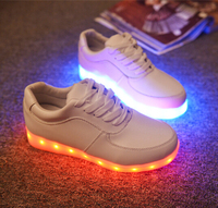 Colorful Glowing Children USB Charging Simulation Neon Basket Shoes with Light Up Boys Girl LED Luminous Shoes Kids Sneakers