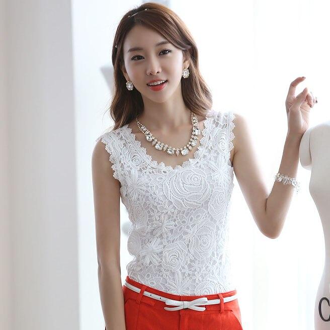 BOBOKATEER plus size blusa de renda camisa branca mulheres blusas verão tops blusas mujer de moda 2019 fino o-pescoço sexy top haut femme