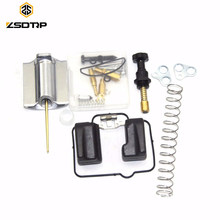 Free shipping ZSDTRP PWK 24 26 28 30 32 34 36 38 40 mm motorcycle Carburetor repair kit with spare jets sets(China)