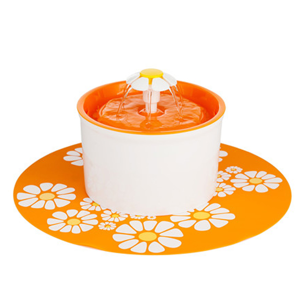 pet fountain-orange1