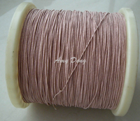 200 meters/lot 0.1x30 shares high frequency transformer new mul strand copper wire polyester envelope 1 meters from the sale