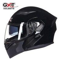 GXT Brand Motorcycle Helmet Double Visors Full Face Motocross Helmets Racing Motorbike Flip Up Riding Casco