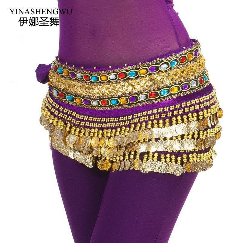 Wholesale Cheap 248 Credits Drilled A Double Chain Belly Dance Hip Belt Waist Chain Waist Chain Waist Chain Waist Egypt