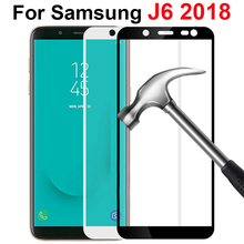 מגן זכוכית עבור samsung J6 מזג זכוכית על עבור samsung galaxy J6 2018 בתוספת מסך מגן J 6 J600 J600F j600G סרט