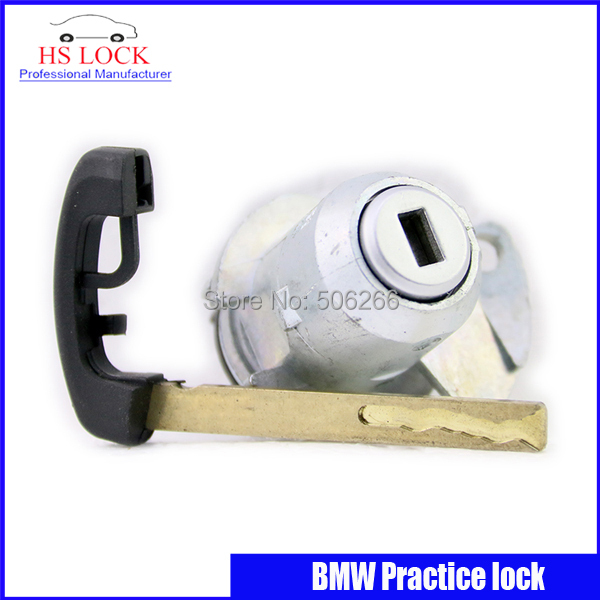 2016 Auto /Car Practice Lock Cylinder With Car Key Locksmith Tools for BMW Training Car Lock professional Locksmith Supplies hu92 car lock repair kit accessories car lock lock plate for bmw locksmith tools for car supply free shipping