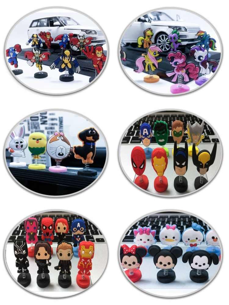 1 chiếc Siêu Anh Hùng Avenger Hoạt Hình Nhân Vật Mini PVC Đứng Phụ Kiện Búp Bê Trang Trí Nhà Đồ Chơi Kid Tặng Đảng TỰ LÀM Đồ Trang Trí