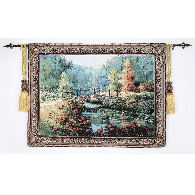 108*138 cm Belgio Arte Della Parete Arazzo Appeso A Parete Gobelin Marocchino Decor Arazzo Tessuto Decorativo Da Parete Arazzi Wall Panno