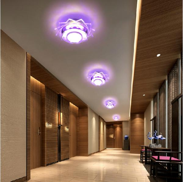 comprar abajur w lmparas led para el hogar modernas luces breve saln llev la luz de techo del pasillo cristal diseo light luminaria