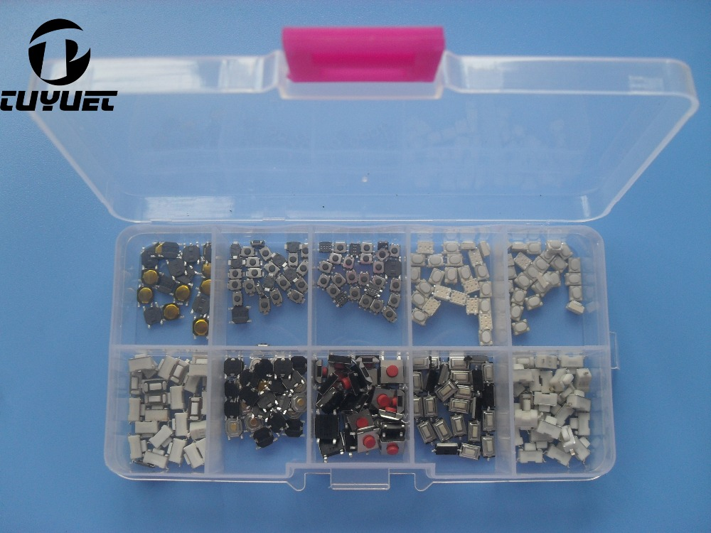 250 PCS Taktil Push Button Beralih remote Kunci Mikro Saklar kontrol untuk Honda untuk Hyundai untuk Peugeot