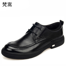 High Quality Genuine Leather Shoes Men,Lace-Up Business Men Shoes,Men Dress Shoes,British retro men shoes all-match cowhide