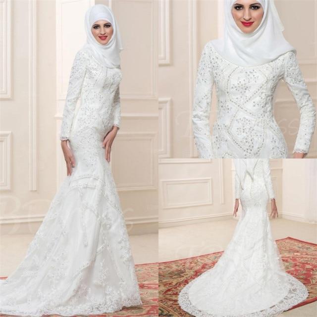musulmana vestido de novia 2016 vestido de festa saudita marroquí