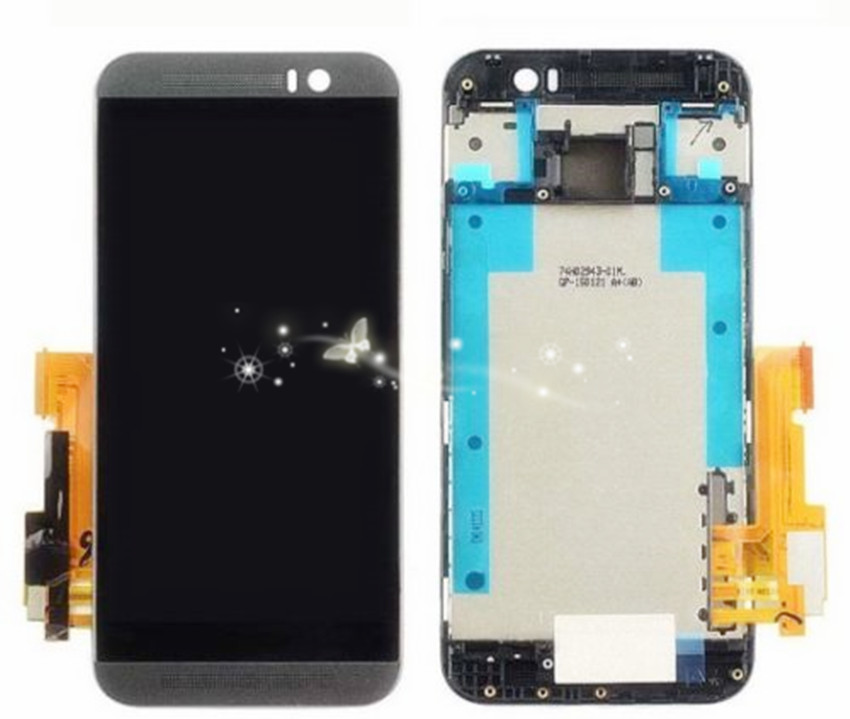 Подробнее о New LCD Display Touch Screen Digitizer Assembly For HTC One M9 with frame Replacement free shipping new lcd for htc one m9 lcd touch screen display with digitizer full assembly free shipping
