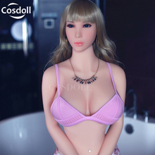 Cosdoll 158cm/165cm Euramerican TPE Silicone Sex Dolls Metal Skeleton,Full Size Love Doll,3D Vagina Sexy Dolls For Men Adult Sex