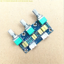 XH-M802 passive board, front board, front panel, tone board, high bass, HIFI, fever grade. preamp passive mixer high and low voltage tuning attenuating passive tone board diy speaker speaker