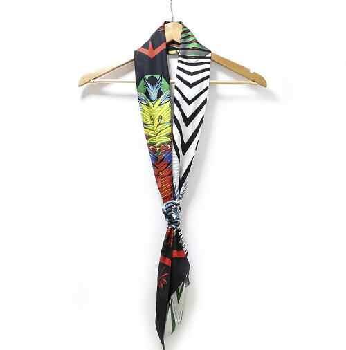 2018 Новый Классический женский шелковый шарф с принтом роскошный бренд шарф модный головной платок сумка длинные шарфы женский галстук-бабочка оптовая продажа