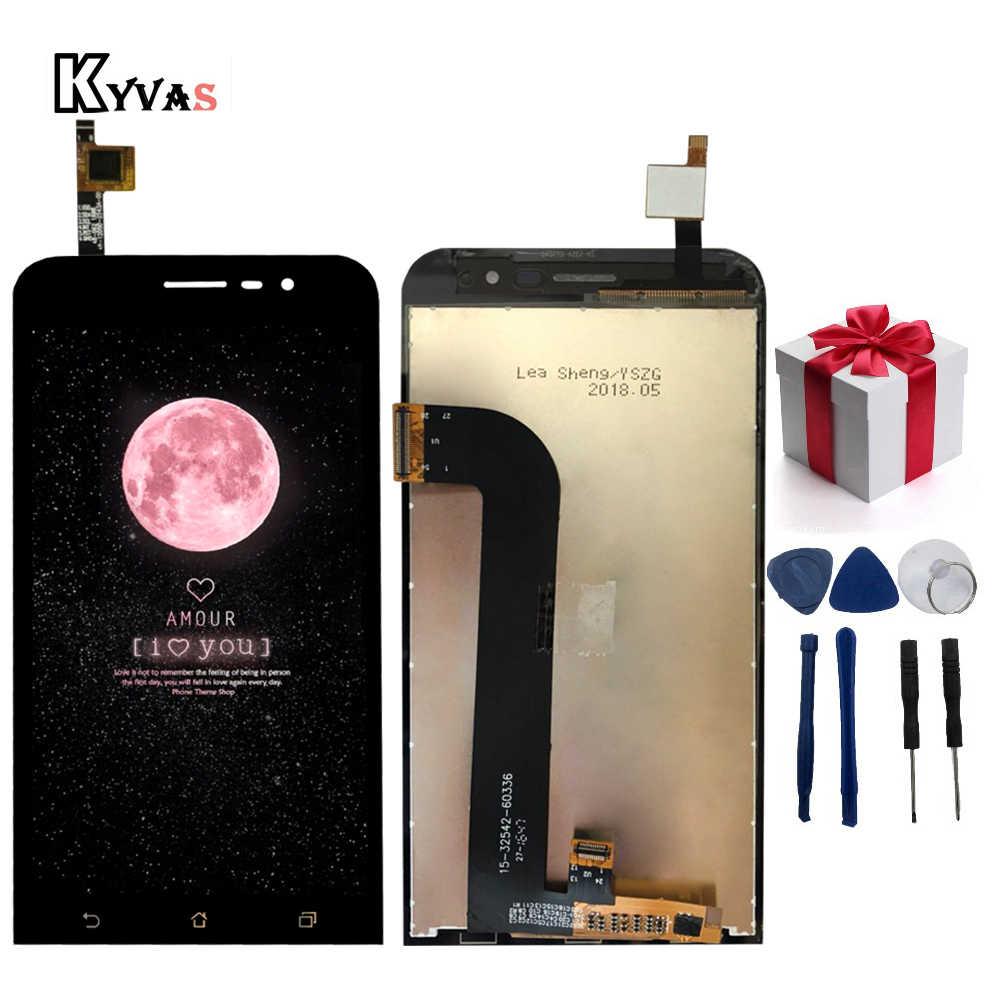Новый черный для Asus Zenfone Go 5 Lite ZB500KG ЖК дисплей сенсорный экран дигитайзер