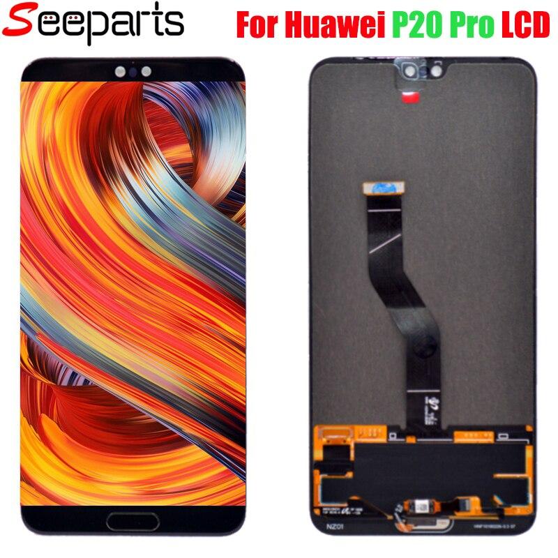 Nouveau Pour 6.1 Huawei P20 Pro écran LCD affichage numériseur à écran tactile P20 pro CLT-AL01 écran LCD avec tactile pour P20 Plus LCD