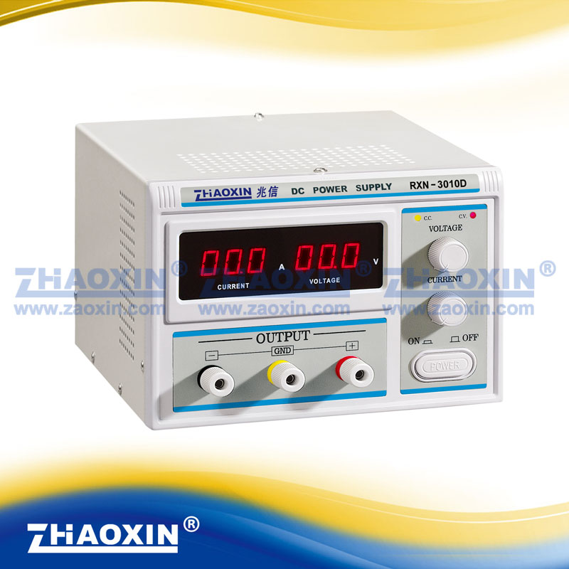 ZHAOXIN RXN-3010D Variable 0~30V 0~10A Lab Grade Linear Adjustable DC Power Supply импульсный источник питания zhaoxin em trust rxn 303d 30v 3a