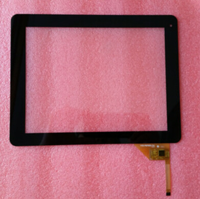 New Capacitive touch screen panel Digitizer Glass Sensor replacement For 9.7 Telefunken TF-MID9707G Tablet Free Ship new capacitive touch screen digitizer cg70332a0 touch panel glass sensor replacement for 7 tablet free shipping