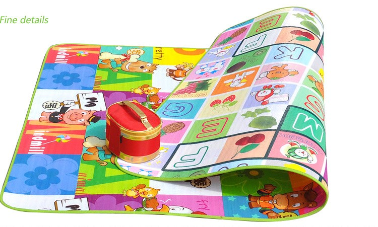 Tapete Infantil Baby Crawling Mat 2m1.6m0.5CM Both Sides Baby Toy Eva Play Mat Carpet Child Game Pad Mats For Children  (4)