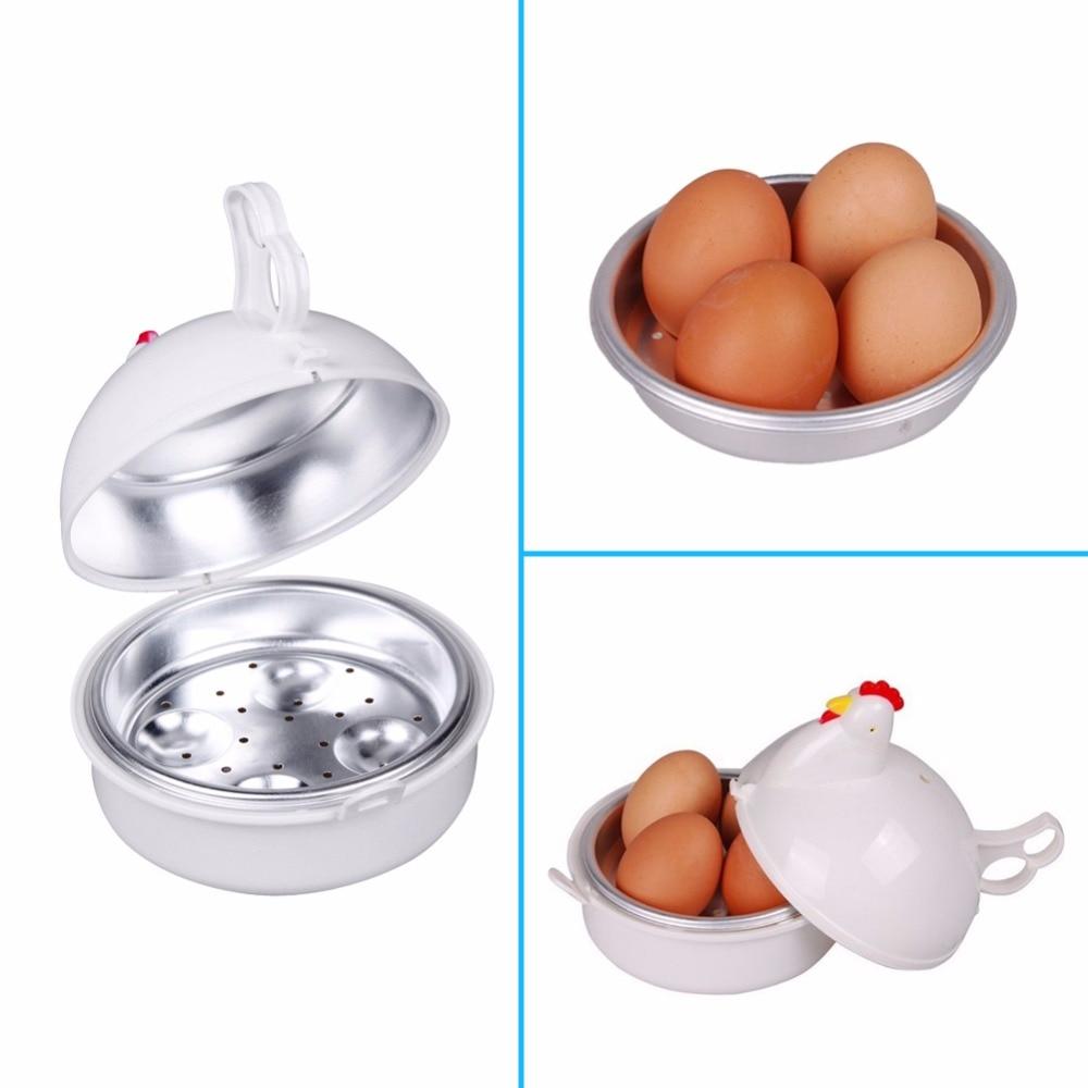 _ Nova Frango Em Forma De Microondas 4 Ovos Caldeira Fog O