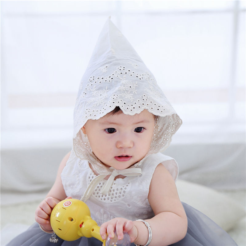 Bnaturalwell Fashion Baby cotton Cap Girls Bonnet Summer Solid Color Hollow  Braid Hat Infant Newborn Kids Hats Lace Caps H838S-in Hats   Caps from  Mother ... b145f1cead93