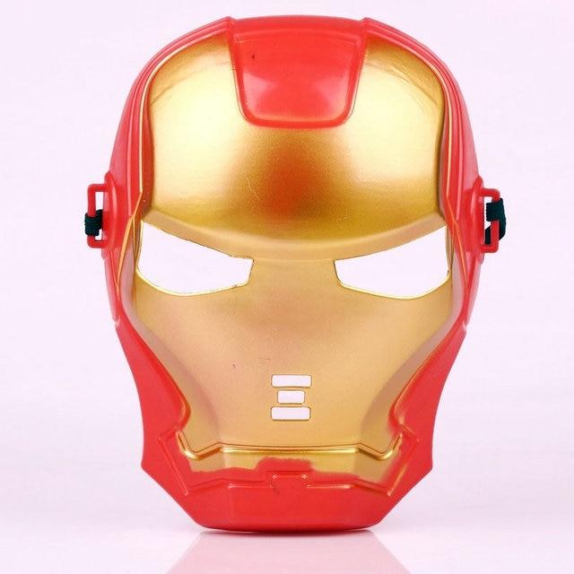 Nouvelle arriv e cool iron man de no l halloween masque dessin anim enfant anime jouets film - Iron man en dessin anime ...