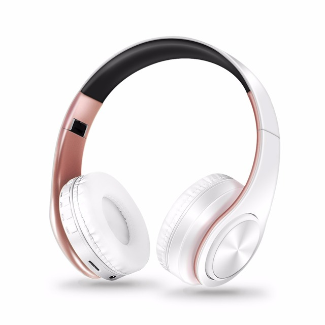 New Arrival Colors Wireless Bluetooth Headphone Stereo Headset Music Headset Over the Earphone with Mic for Iphone Sumsamg 1