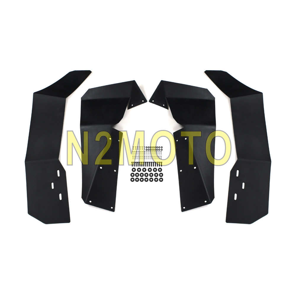 UTV Fender Flare Mud Guard Flares for Polaris RZR S 900 RZR S 1000 2015 2016