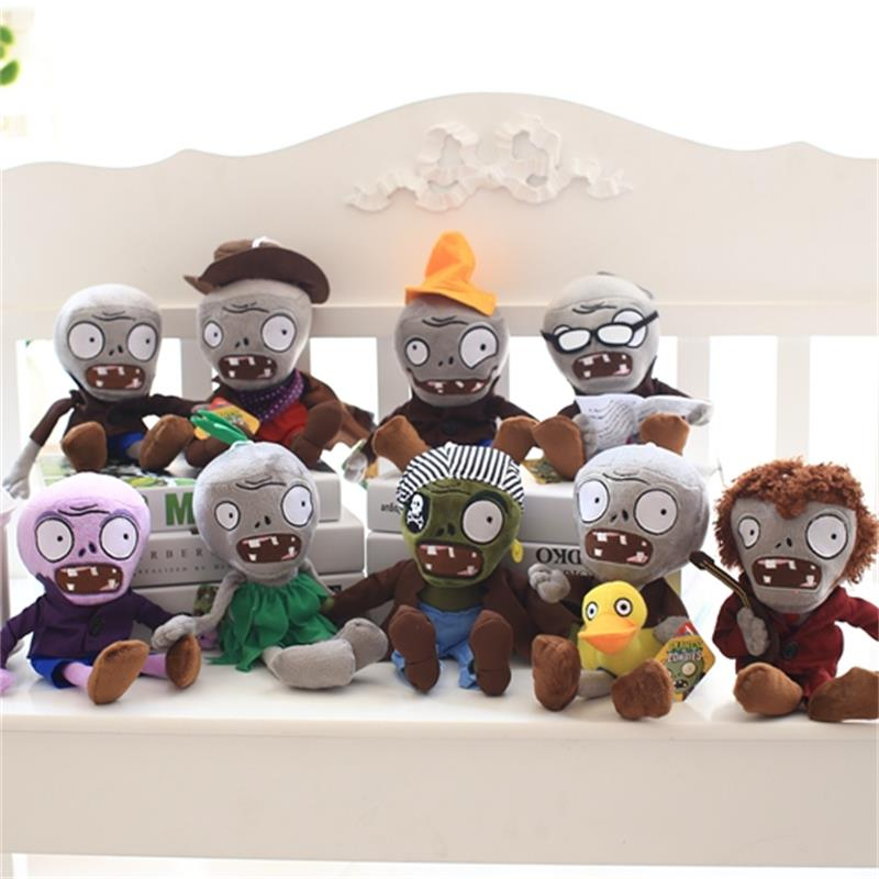 Direct deal most complete series plants vs zombies plush toys High quality and low price Single sales link