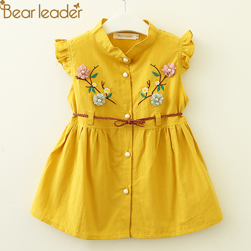 e1cc9a1f331 Bear Leader Baby Dresses 2018 New Summer Baby Girls... SKU  32870002802.  ₨1