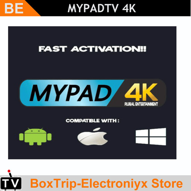US $32 0 |Myiptv Myiptv4k Mypadtv Haohd iptv subsciption Android tv box  Watch Malaysia Singapore Thailand Indonesia Channels HK TVB etc-in Set-top