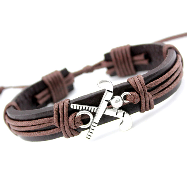 Field Ice Hockey Player Soccer Football Softball Volleyball Lacrosse Gymnastics Tennis Charm Leather Bracelets Women Men