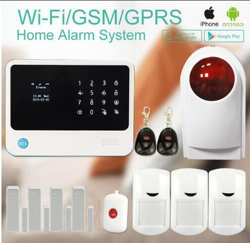 G90B plus home security gsm alarm system with GPRS wireless home alarm system support andriod / IOS app Collocation alarm sensor arduino atmega328p gboard 800 direct factory gsm gprs sim800 quad band development board 7v 23v with gsm gprs bt module