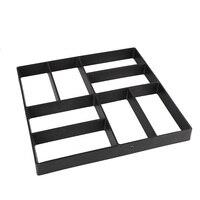 40x40 cm Negro Pavimento De Piedra De Pavimentación Molde Stepping Molde Extendedora